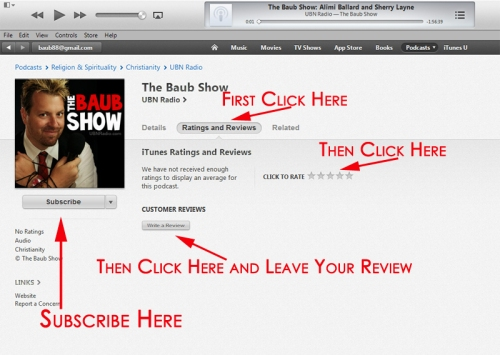 How to Subscribe and Rate us on iTunes